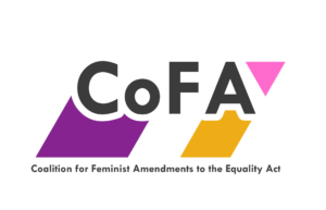 Image of the logo for the Coalition for the Feminist Amendments to the Equality Act